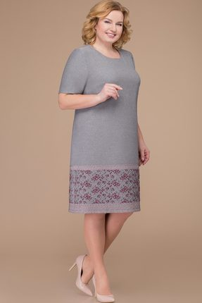 Купить Платье Svetlana Style 1182 серый, Повседневные платья, 1182, серый, 71% ПЭ, 23% вискоза, 6% спандекс., Мультисезон