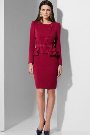 Фото - Комплект юбочный Lissana 3622 марсала цвет марсала