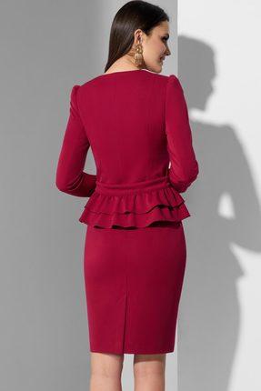 Фото 2 - Комплект юбочный Lissana 3622 марсала цвет марсала