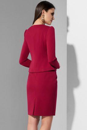 Фото 3 - Комплект юбочный Lissana 3622 марсала цвет марсала