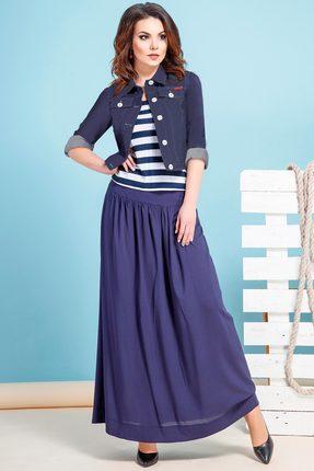 Комплект юбочный JeRusi 1635 синий