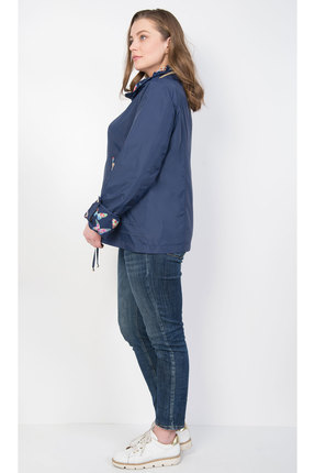 Фото 2 - Куртку TricoTex Style 1547н темно-синий темно-синего цвета