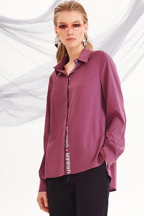 Фото - Блузку DiLiaFashion 0144-1 фиолетовый фиолетового цвета