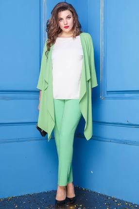 Комплект брючный Anastasia 252 зеленый