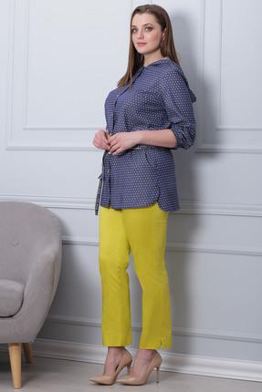 Фото 2 - Комплект брючный Michel Chic 592 желтый с синим цвет желтый с синим
