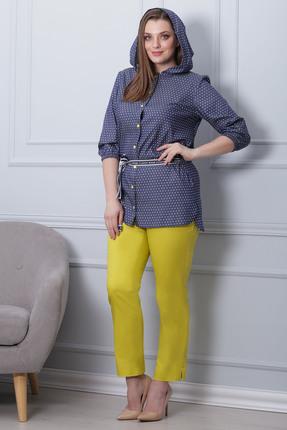 Фото 3 - Комплект брючный Michel Chic 592 желтый с синим цвет желтый с синим