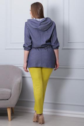 Фото 4 - Комплект брючный Michel Chic 592 желтый с синим цвет желтый с синим