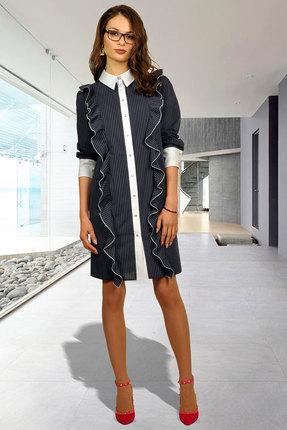 Платье Миа Мода 1000 черный По...