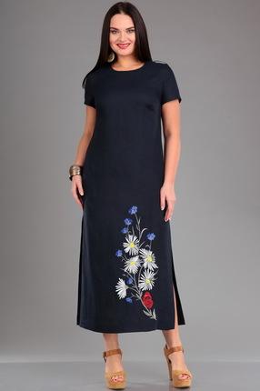 Платье Jurimex 1959 синий Повс...