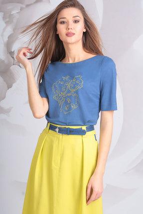 Фото 2 - Комплект юбочный Golden Valley 6370 синий с желтым цвет синий с желтым