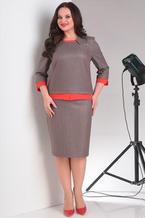 Фото 2 - Комплект юбочный Milana 876 красные тона цвет красные тона