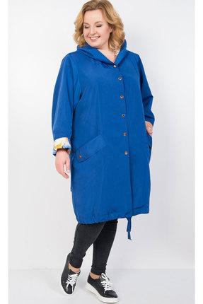 Фото - Плащ TricoTex Style 1905 синий синего цвета