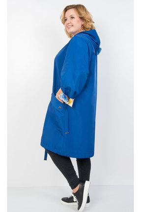 Фото 2 - Плащ TricoTex Style 1905 синий синего цвета
