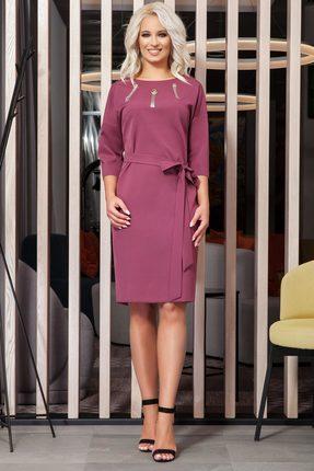 Купить Платье DilanaVIP 1212 клевер, Повседневные платья, 1212, клевер, 71% полиэстер, 23% вискоза, 6% спандекс., Мультисезон