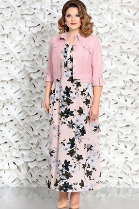 Комплект плательный Mira Fashion 4601 светло-розовый