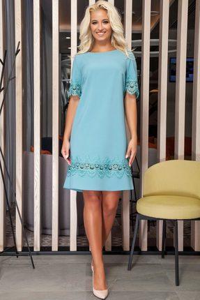 Платье DilanaVIP 1221 бирюзовый