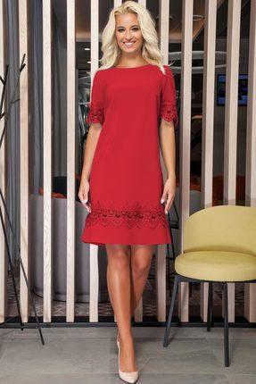 Платье DilanaVIP 1221 красный