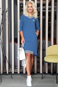 Платье DilanaVIP 1175 синий