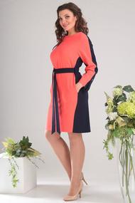 Платье Мода-Юрс 2460 коралловый