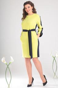 Платье Мода-Юрс 2460 салатовый