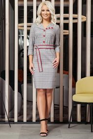 Платье DilanaVIP 38 светло-серый