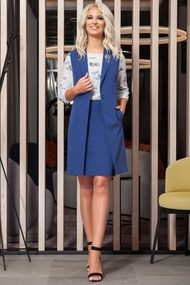 Комплект юбочный DilanaVIP 14 синий