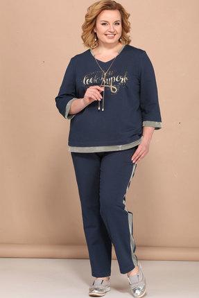 Комплект брючный Bonna Image 420 темно-синий