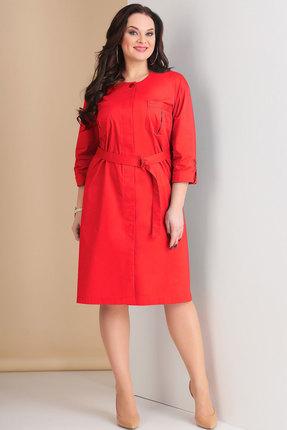 Красное платье Ксения Стиль