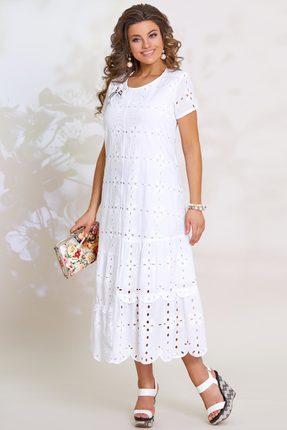 Платье Vittoria Queen 8483 белый