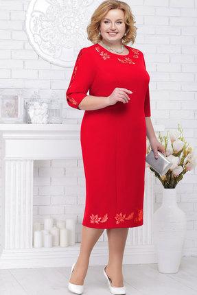 Купить Платье Ninele 7236 красный, Вечерние платья, 7236, красный, Полиэстер 95%, спандекс 5%, кружево - полиэстер 100%, подкладка - полиэфир 95%, Мультисезон