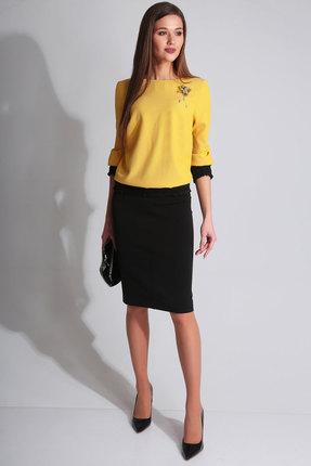 Комплект юбочный Axxa 26100а желтый с черным