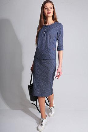 Купить со скидкой Комплект юбочный Axxa 26103а темный синий