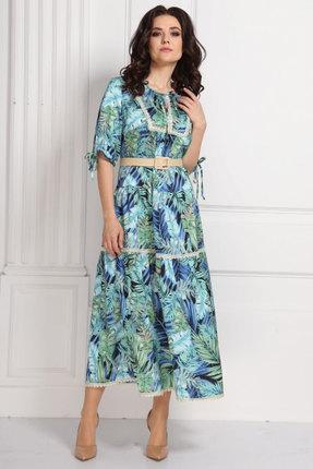 Платье Solomeya Lux 561 бирюза