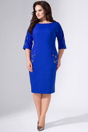 Купить Платье Avanti Erika 759 синий, Повседневные платья, 759, синий, вискоза 72%, ПЭ 25%, спандекс 3%, Мультисезон