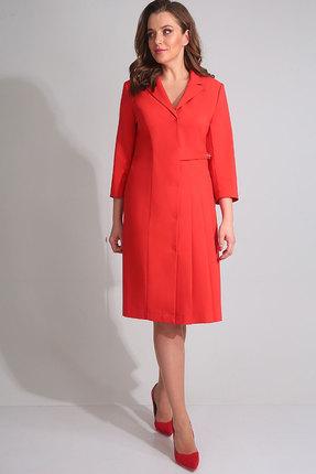 Купить Платье Golden Valley 4554 красный, Повседневные платья, 4554, красный, полиэстер 71 %, вискоза 23%, спандекс 6%, Мультисезон