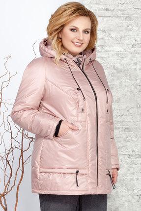 Куртка Ivelta plus 873 розовые тона Ivelta plus