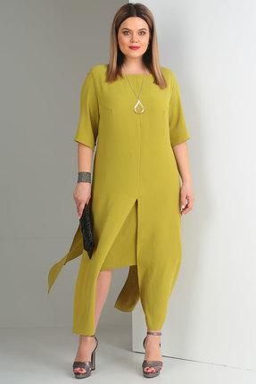 Комплект юбочный Viola Style 2623 олива