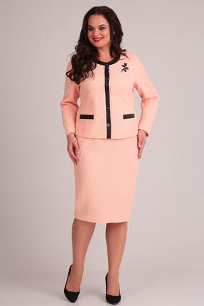 Комплект юбочный Anastasia Mak 595 пудра