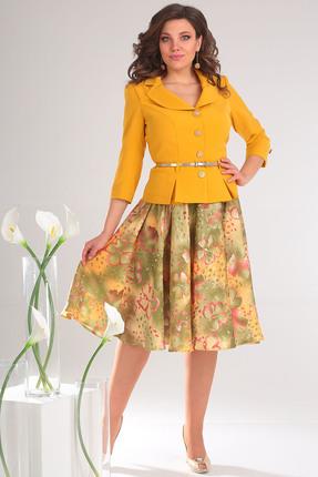 Купить со скидкой Комплект юбочный Мода-Юрс 2136 горчичные тона