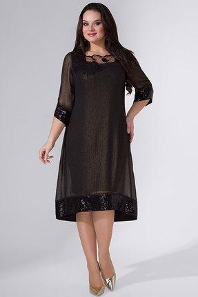 Купить Платье Avanti Erika 756 черные тона, Вечерние платья, 756, черные тона, вискоза 72%, ПЭ 25%, спандекс 3%, Мультисезон