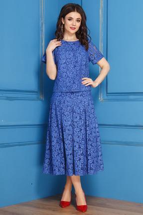 Комплект юбочный Anastasia 271 синий