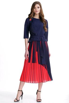Комплект юбочный Мишель стиль 768 красный
