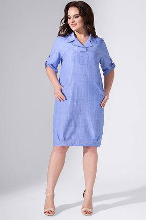 Платье Avanti Erika 784 голубой, Повседневные платья, 784, голубой, вискоза 72%, ПЭ 25%, спандекс 3%, Лето  - купить со скидкой