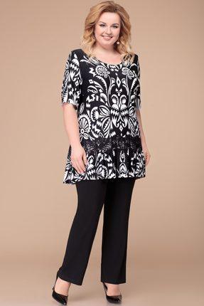 Комплект брючный Svetlana Style 1218 черный
