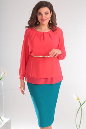 71e9bc62 Блузка Мода-Юрс 2359 коралловый - 2500.0 руб   Женская одежда/Блузки ...