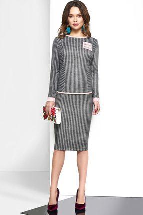 Комплект юбочный Lissana 3601 серый