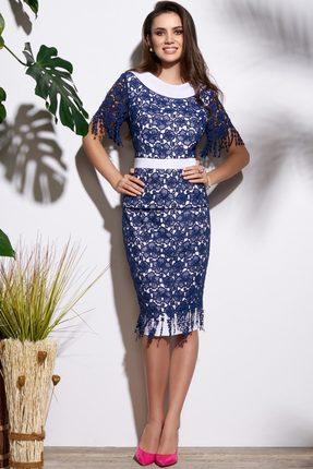 Комплект юбочный Lissana 3646 темно-синий