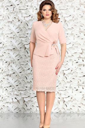 Комплект юбочный Mira Fashion 4580-4 пудра