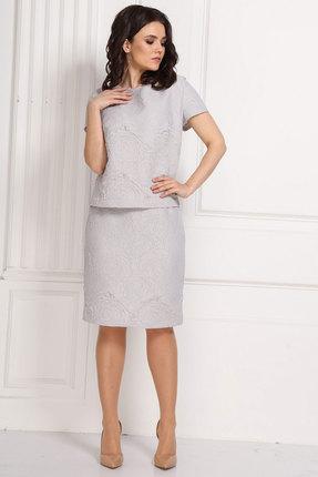 Комплект юбочный Solomeya Lux 581-1 серые тона