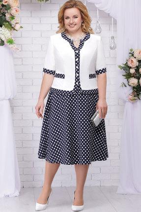 Комплект юбочный Ninele 5706 белый+синий